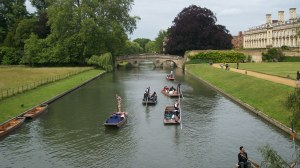 Punting on the Cam 1: Elizabeth Whitten