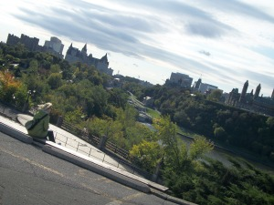 Behind the National Gallery of Canada: Elizabeth Whitten